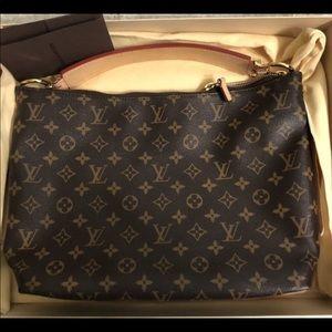 100% Authentic Louis Vuitton Sully PM Monogram